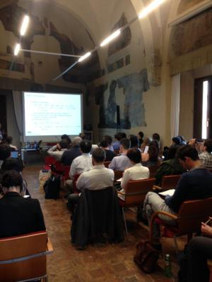 "Prof Phoebe Koundouri keynote speech at the ""2018 International Workshop on The Economics Of Climate Change And Sustainability"", Bologna, 27 & 28 April 2018"
