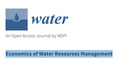 Prof. Phoebe Koundouri and Dr. Ebun Akinsete will be guest editing a special issue of the MDPI Journal, Water