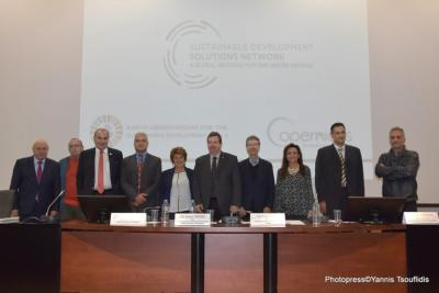 The UN SDSN Black Sea Presentation took place in the Aristotle University of Thessaloniki on 25th of October 2018