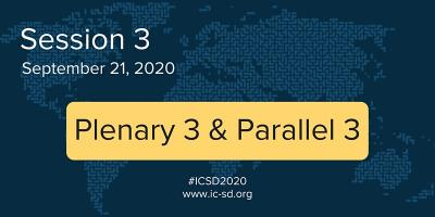 "International Conference on Sustainable Development (ICSD) 2020. The theme of the 2020 edition of ICSD is ""Cross-Cutting Solutions for the Decade of Action."" September 21-22, 2020"