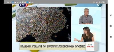 "Prof. Koundouri on National TV ERT1 – ""EPILOGES"" – 11 July 2020"