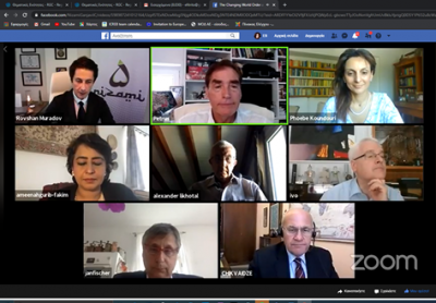 Nizami Ganjavi International Center web conference on 2 July