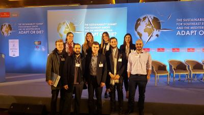 ICRE8 participates in the Sustainability Summit for Southeast Europe and the Mediterranean