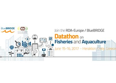 Join the BLUEBRIDGE DATATHON on fisheries and aquaculture (Heraklion, Crete)