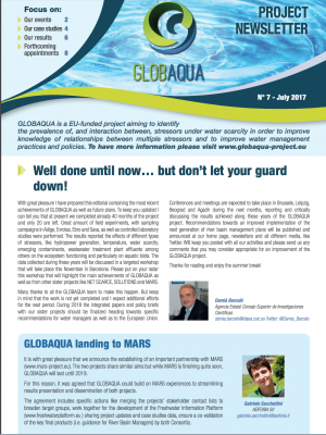 The GLOBAQUA Project Newsletter - Issue 7
