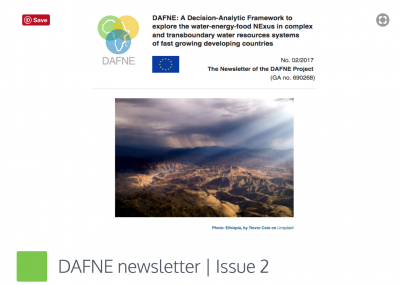 DAFNE Newsletter issue 2 released